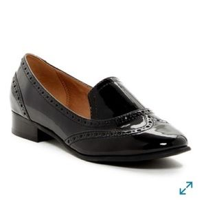 14th and Union Finley Wingtip Patent Black Loafer